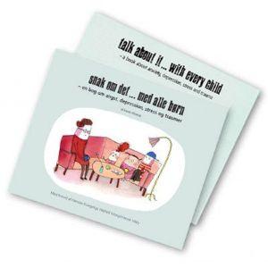 Brug bogen SNAK OM DET til undervisning i skolen.