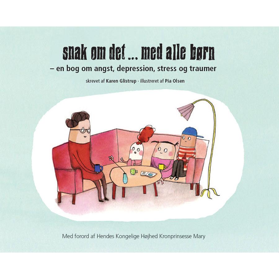 Bogen 'Snak om det ... med alle børn' af Karen Glistrup